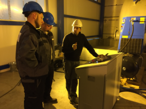 Szkolenie w obszarze systemów poliuretanowych używanych do produkcji płyt izolacyjnych z grupy Crossin® Building Insulation.