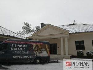 Izol Poznań - ocieplenie poddasza - Gniezno