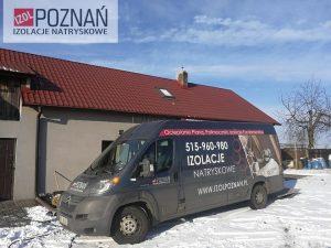 Izol Poznań - strych ocieplenie Crossin - Jarocin