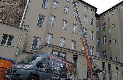 Izol Poznań - ocieplenie dachu w kamienicy - Poznań